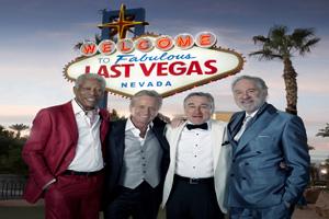 Beste Freunde in Las Vegas: Archie (Morgan Freeman), Billy (Michael Douglas), Paddy (Robert De Niro) , Sam (Kevin Kline)