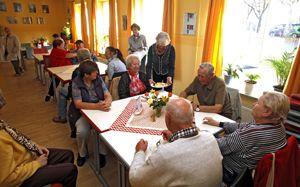 Mittagstisch im BRK Bürgertreff in Nürnberg, Foto: Matejka