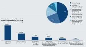 Die Zahlen des BKA zum Thema Cyberkriminalität. (Zum Vergrößern anklicken. Es öffnet sich ein neues Fenster.)