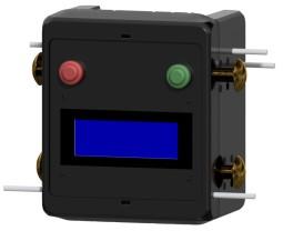 Kleines Gerät, große Wirkung: Über seitlich angebrachte Elektroden misst der Sip It! den Körperwassergehalt. Bild: Marco Degünther
