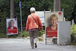 Die Persönlichkeiten nehmen an Bedeutung zu. Auf Wahlplakaten stehen sie – und nicht die Inhalte – im Mittelpunkt. Foto: Michael Matejka